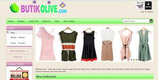 Butik Olive Indonesia Fashion Online Store adalah Toko Online yang menjual Baju Import dengan Harga semurah Harga Grosir dengan Garansi Penukaran