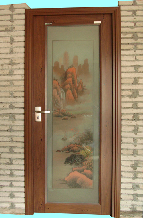 Bathroom Door Designs