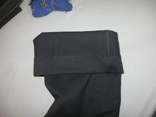 como fazer barra em calça masculina