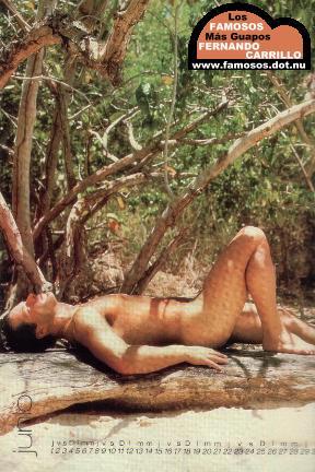 Actor Fernando Carrillo Desnudo