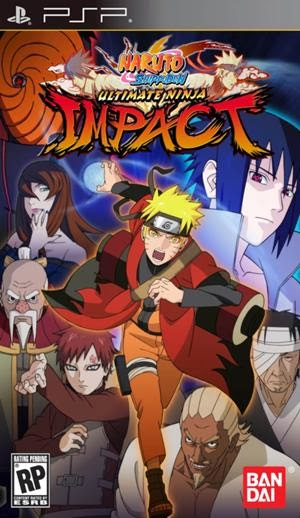 Download Game Naruto Untuk Android dan PSP - Naruto Shippuden Ultimate Ninja Impact ISO File
