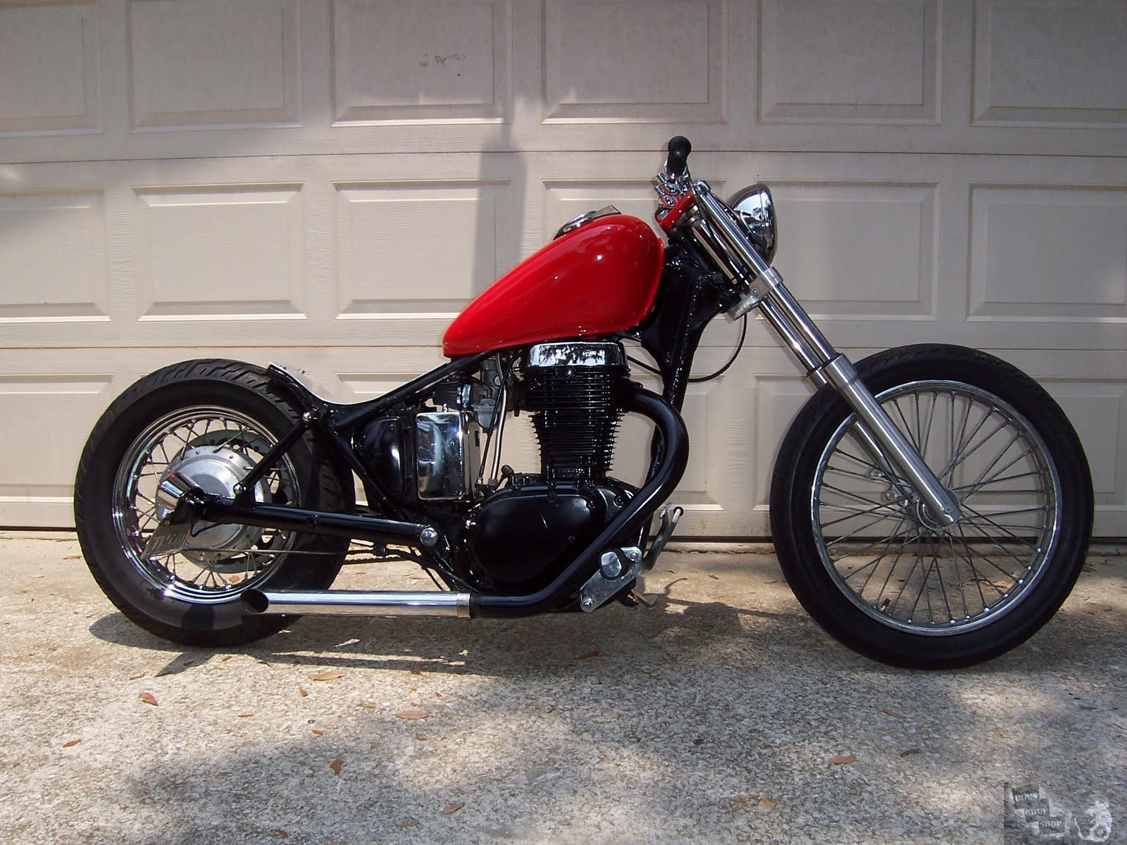 cafe racer special suzuki savage ls650 bobber. Black Bedroom Furniture Sets. Home Design Ideas