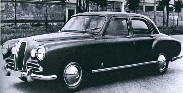 Car Style Critic: BMW 501: First Postwar BMW Sedan Design
