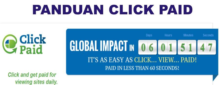 Panduan Click Paid