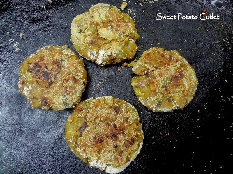 sweet potato cutlet
