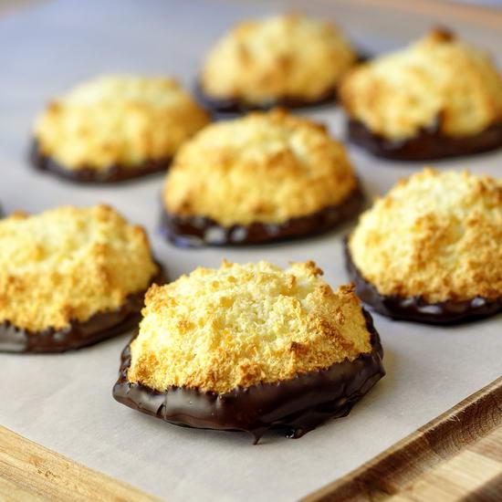 Chocolate Macaroons With Orange Ganache Recipe — Dishmaps