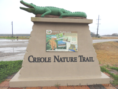 The Creole Nature Trail: Cameron Prairie Visitor's Center -- Information, Tante Marie, and GATORS are just a few things you'll find at this stop along the trail! | bonveillercher.blogspot.com