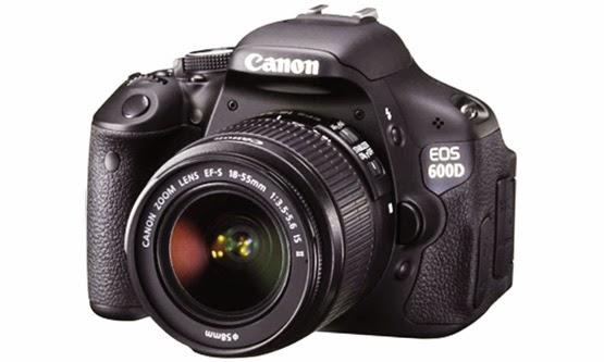 Harga Harga dan Spesifikasi Camera DSLR Canon EOS 600D Terbaru Lengkap
