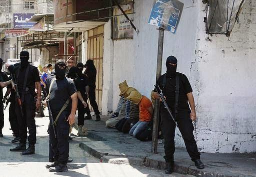 أمن المقاومة يعدم 18 عميلاً