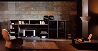Decoracion de interiores y mas la piedra un estilo - Revestimiento de paredes interiores en piedra ...