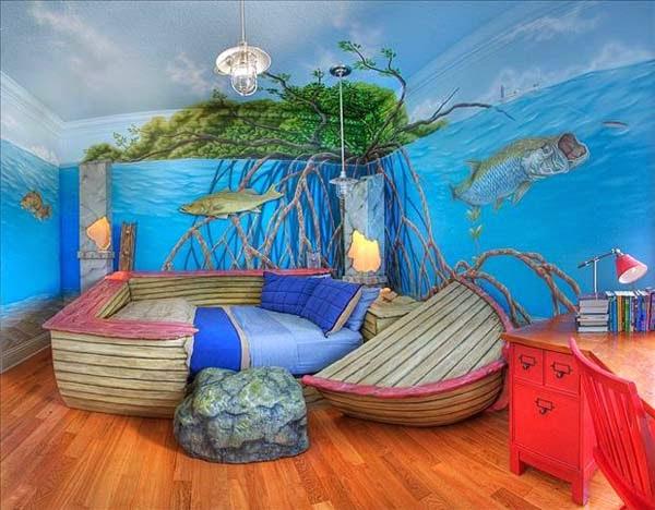 kollima.gr - 32 παιδικά δωμάτια τόσο επικά που θα ξυπνήσουν το παιδί μέσα σας!