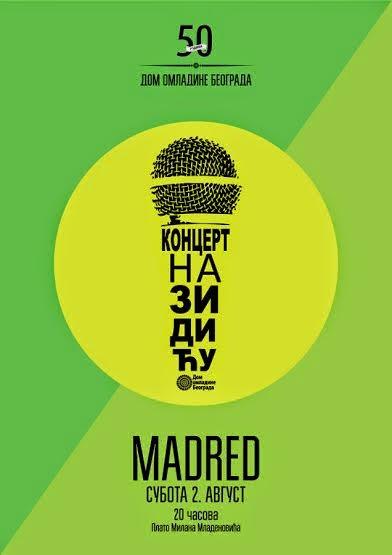 Madred promovišu debi album u subotu na Zidiću DOB-a