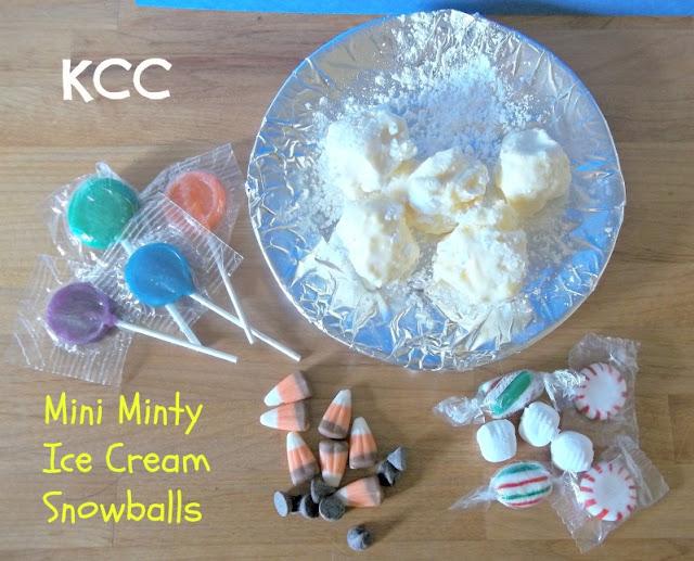 Ice cream snowman decorating birthday party ideas