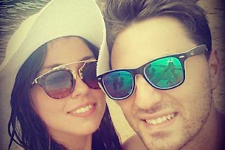Valerio e Sharon foto insieme
