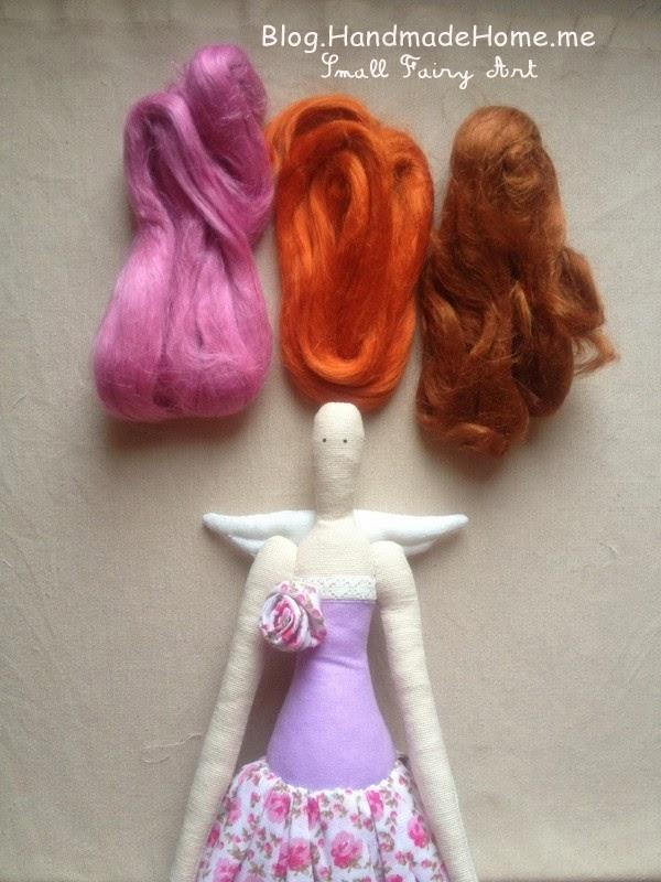 Волосы для кукол тильды своими руками 473