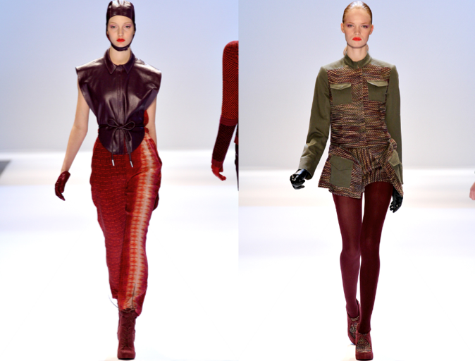 Behold: Charlotte Ronson's FW 2012 collection takes a turn for the mature in ...