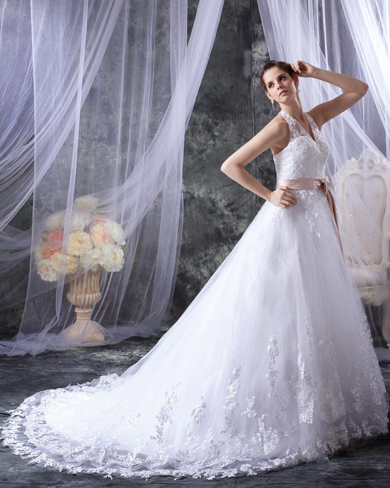 http://www.victoriasdress.co.uk/2014-new-style-a-line-halter-sleeveless-tulle-white-wedding-dress-with-appliques-bukch115.html