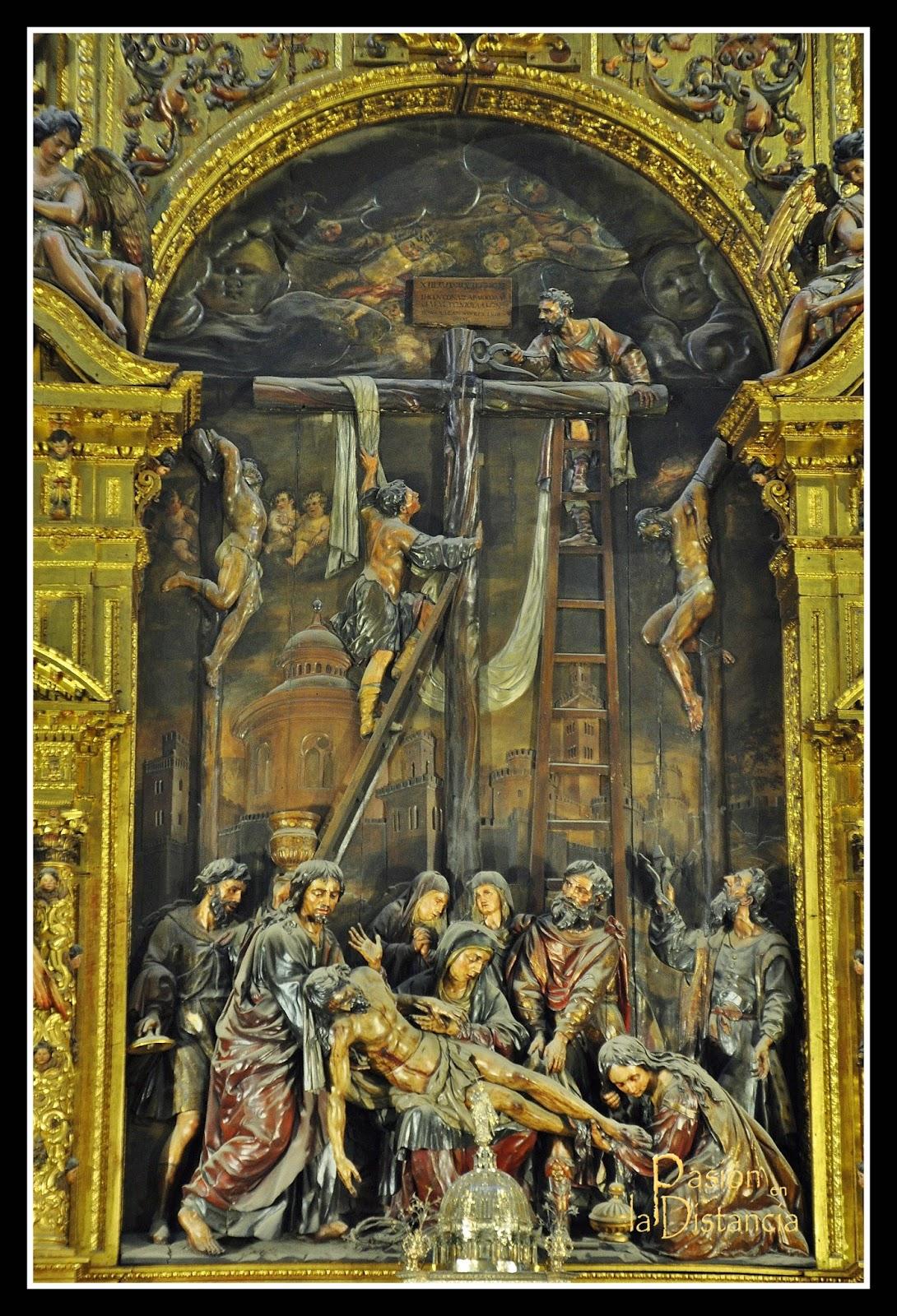 Retablo de la Iglesia del Sagrario Catedral de Sevilla