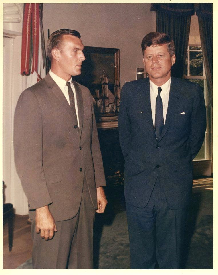 SA Robert Lilley, with whom I spoke to and corresponded with several times, with JFK