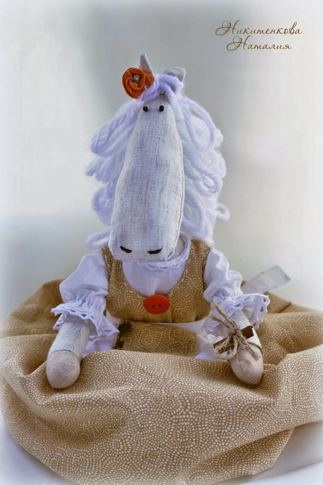 Лошадка пакетница на кухню шитье рукоделие