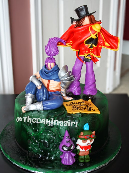 best league of legends cake
