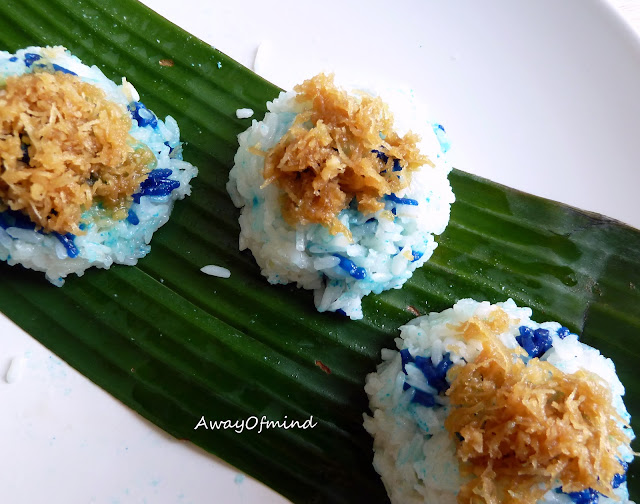 Awayofmind Bakery House: Pulut Inti (Glutinous Rice with Coconut ...