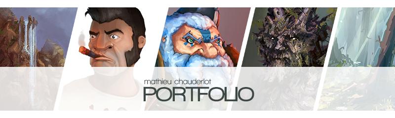 Portfolio - Mathieu Chauderlot - 2d Artist