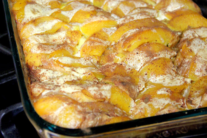 ... Food: Peach French Toast Recipe. Make ahead and bake the next morning