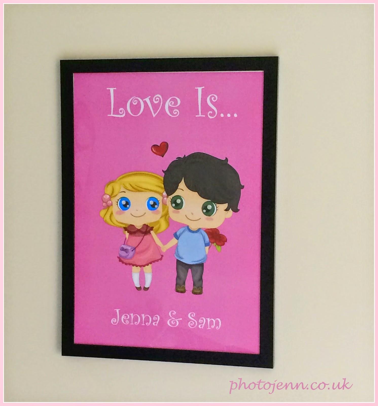 love-is-personalised-valentines-print