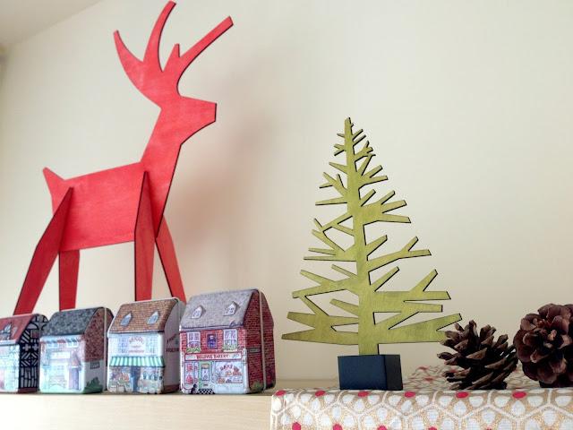 北歐風聖誕佈置