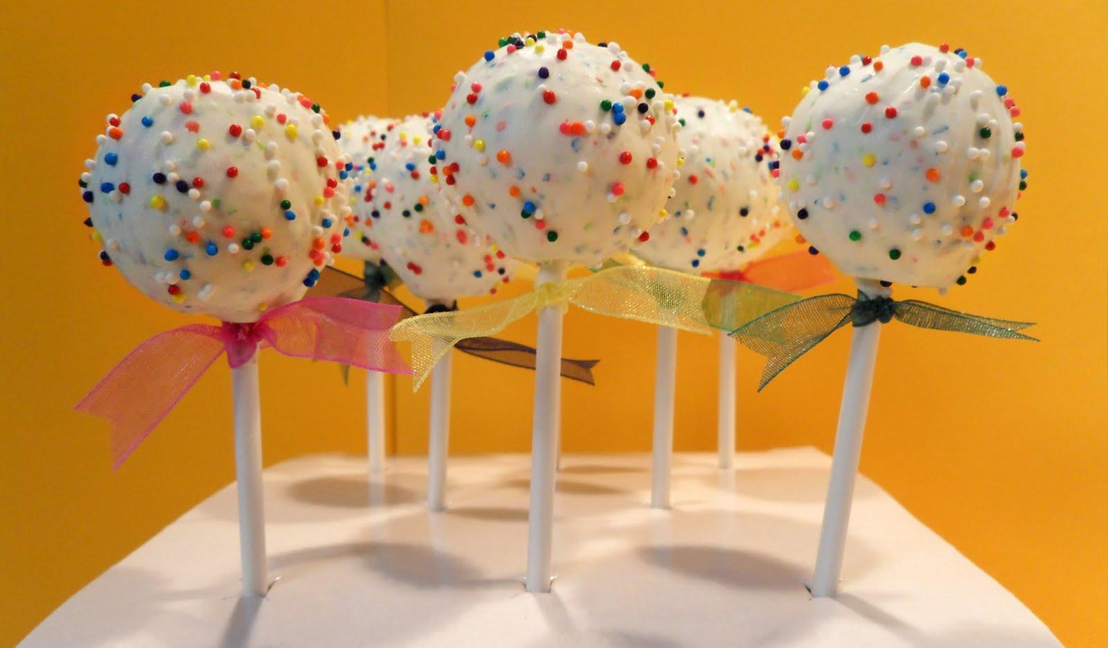Birthday Cake Pops San Diego