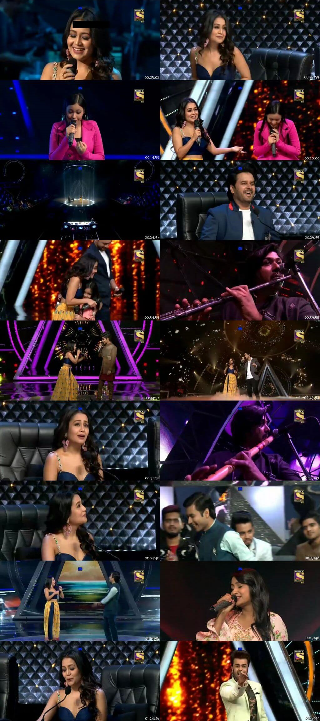 Screenshots Of Hindi Show Indian Idol 11th November 2018 Episode 38 300MB 480P HD