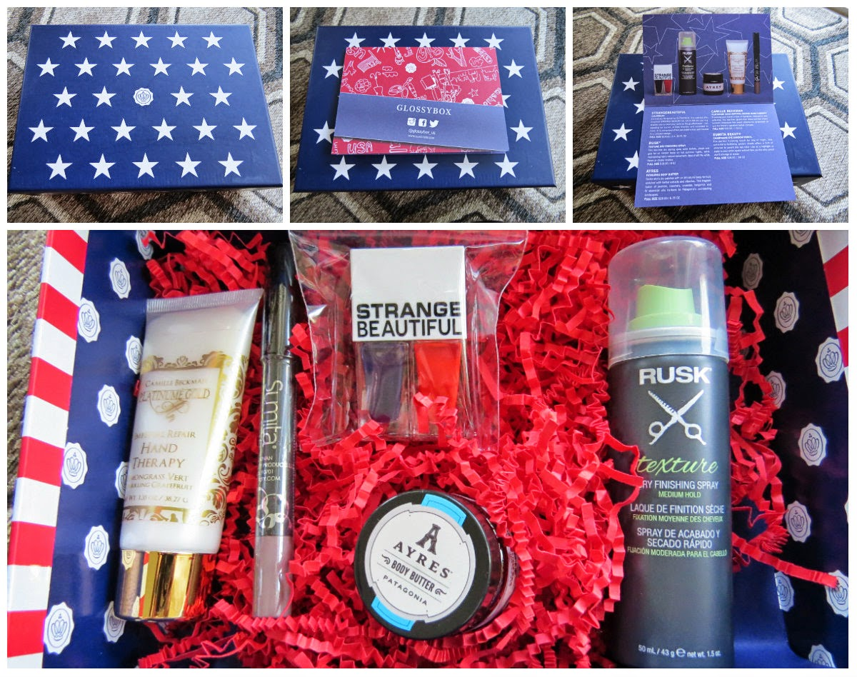 June 2014 Glossybox Review