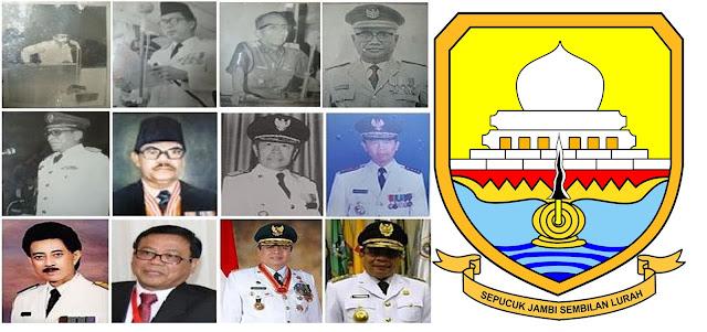 59 Tahun Jambi, Ini Dia 13 Gubernurnya Sejak Tahun 1955 Hingga Sekarang