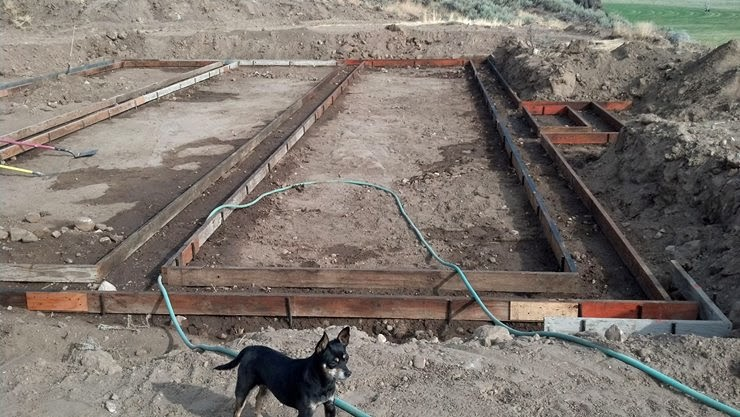 how to build a stem wall foundation