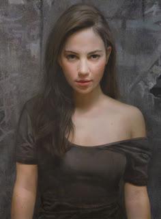 Garota (Pinturas ultra-realistas)