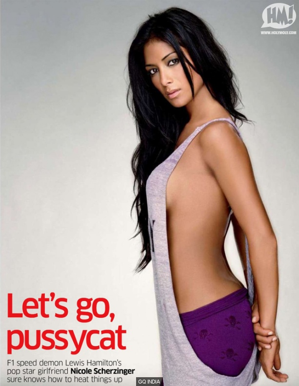 Nicole Scherzinger hot sexy pics gq magazine india hot topless photoshoot