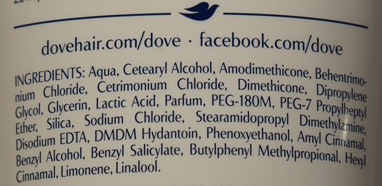 Odżywka Dove Oxygen Moisture skład