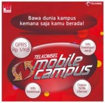 Internet Paket Murah Rp 0,3/kb Dari Telkomsel Mobile Campus Community