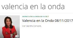 VALENCIA EN LA ONDA CON MERCHE CARNEIRO