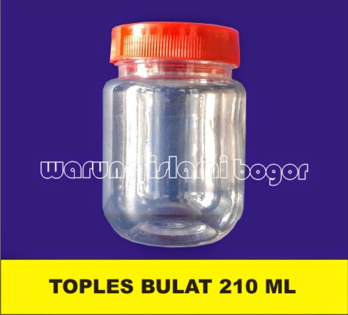 Jual Jar Plastik Bulat 200ml