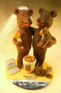 Animals Wedding Cake Toppers Picture