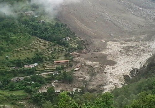Bhotekoshi_river_landslide_Photo