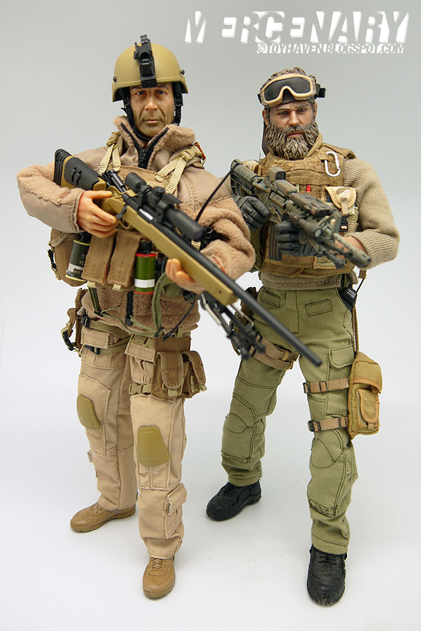 Urban sniper outfit snipers typically have highly