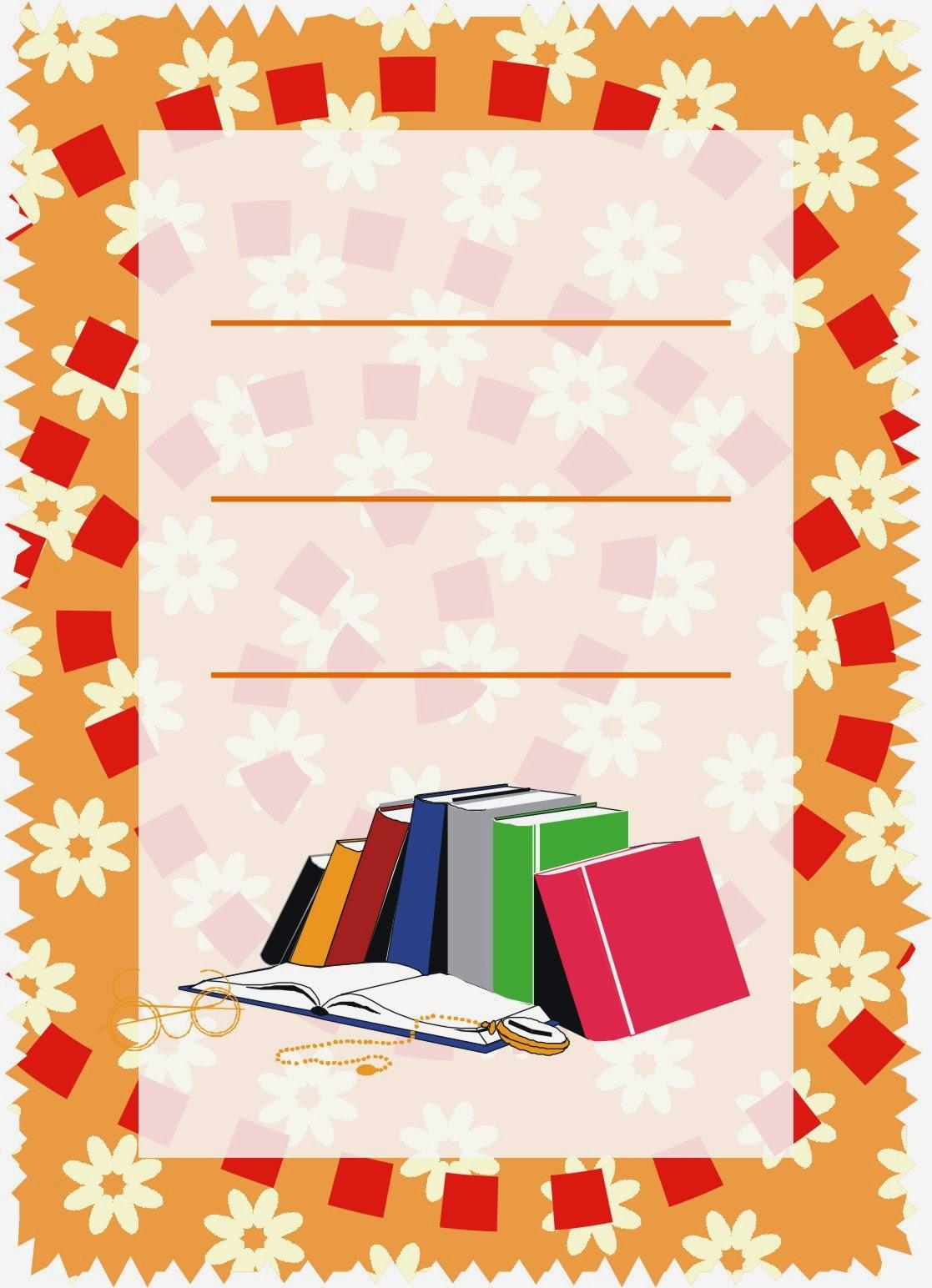 Caratulas para cuadernos abril 2014 - Decoraciones gramar ...