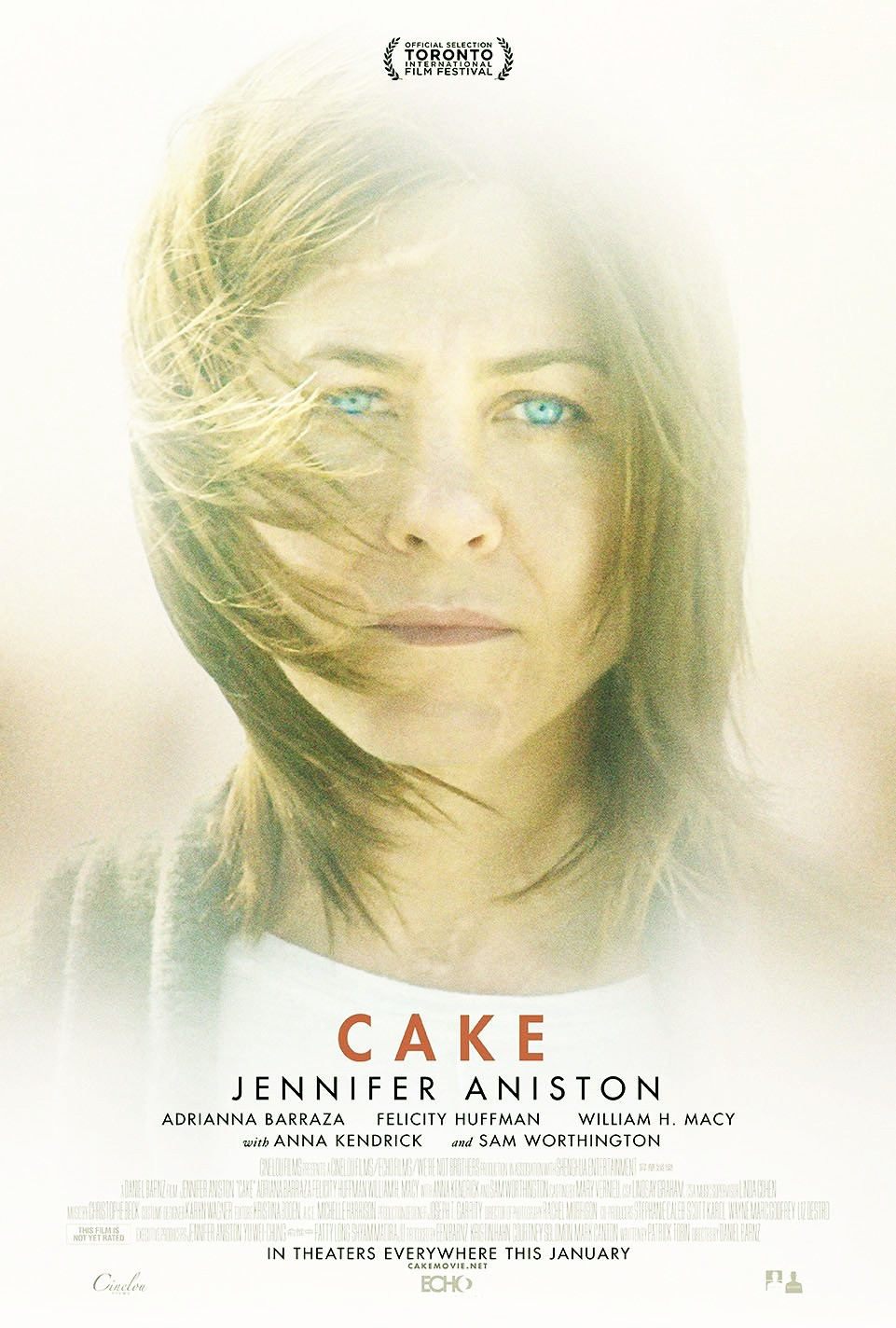 Sinopsis Film Cake - Pemain Jennifer Aniston, Anna Kendrick, Sam Worthington