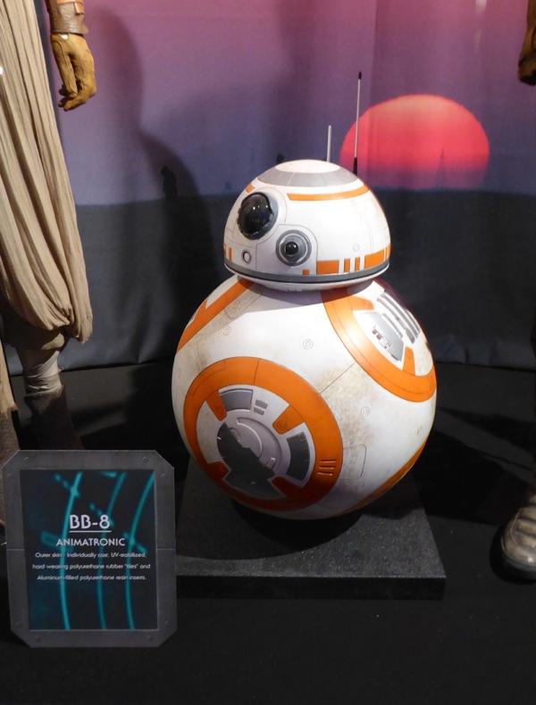 BB-8 animatronic Star Wars Force Awakens
