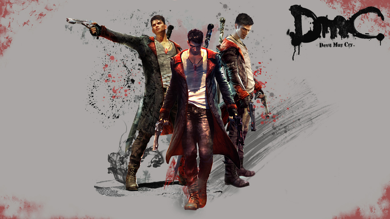 ModernInGames: WALLPAPERS DMC DEVIL MAY CRY