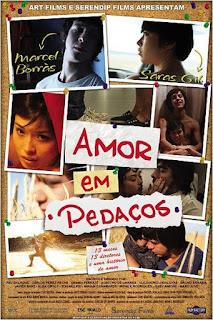 """Cartaz do filme """"Amor em Pedaços"""""""