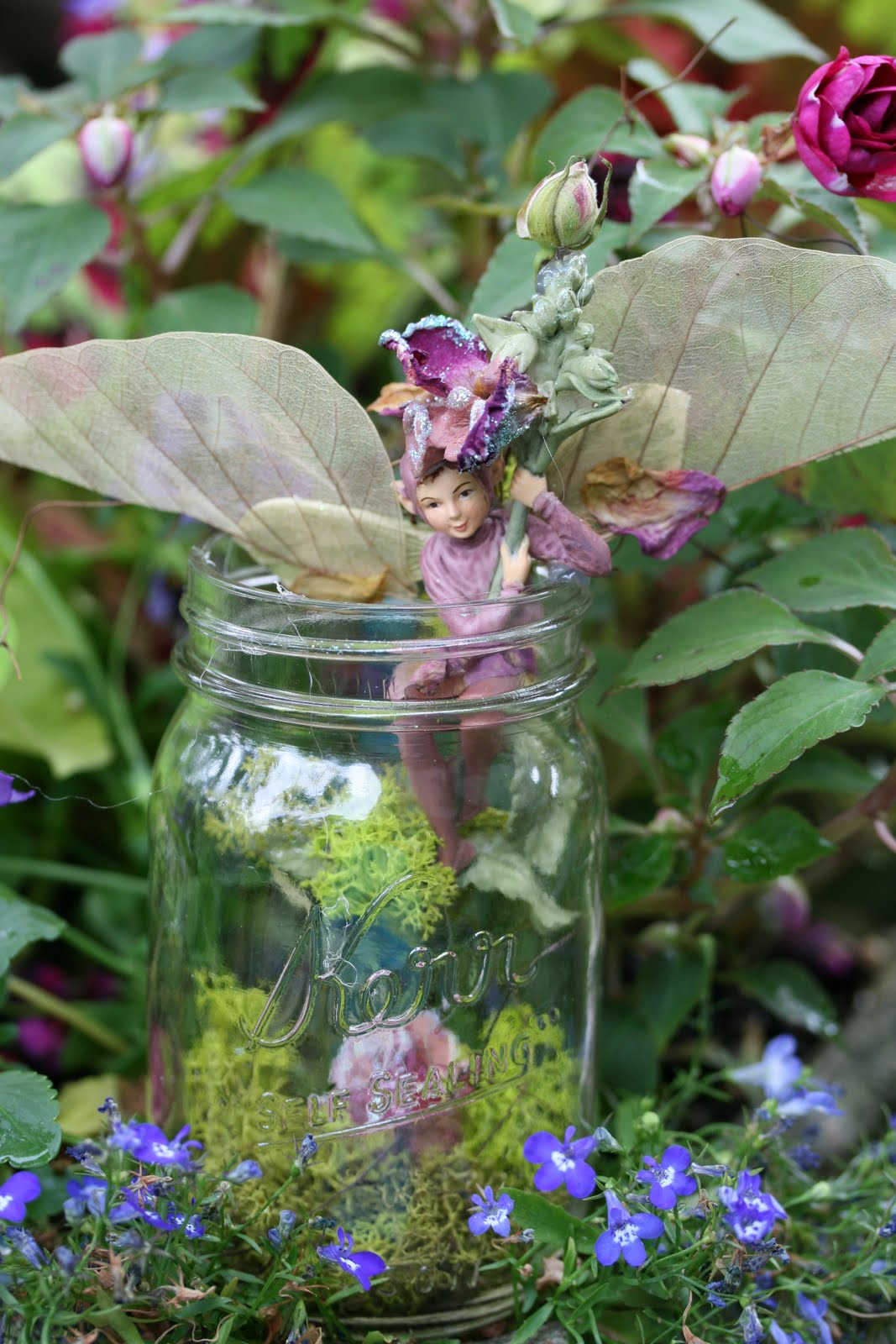 Romancing The Home Fairies In The Garden
